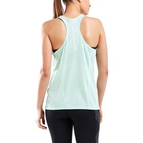 2XU GHST Singlet Shirt Women, mint/white reflective
